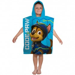Paw Patrol Kids Double Sided Hooded Towel Poncho 100*50 cm