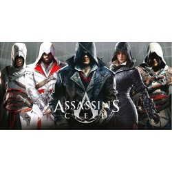 Assassin's Creed Handduk Badlakan 140*70cm Assassin's Creed 199,00 kr
