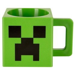 Minecraft Plastic Creeper Face Mug 29cl
