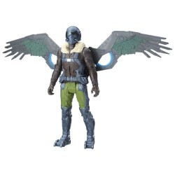 Spider-Man Spindlers Electronic Marvel's Vulture Action Figur 30cm