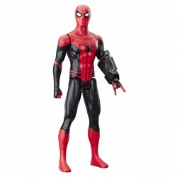 Spider-Man Far From Home Titan Hero Figure Spindelmannen Med Power FX Port