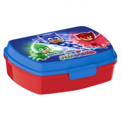 Pyjamasheltene PJ Masks Food Box Blå / Rød