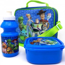 Toy Story Play Time Shoulder bag + Eväsrasia ja juomapullo