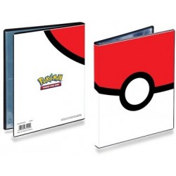 Pokemon Pokeball Portfolio 4-lommer Ultra Pro-kort