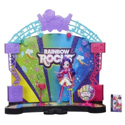 My Little Pony Equestria Girls Concert Stage Playset Pinkie Pie Doll