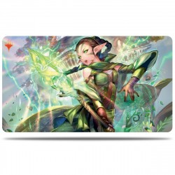 "UP -MTG - Playmat - War of the Spark - Nissa 24"" x 13 1/2"""