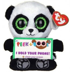 TY Peek-A-Boos Poo Panda Phone Holder Plush