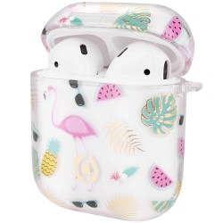 Apple Airpod etui - Celly Aircase Paint Pink