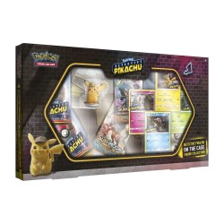 Pokemon TCG: Detective Pikachu On The Case Figure Collection