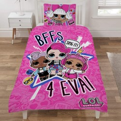 L.O.L. Surprise! LOL Sing It Sovepose Bedset Vendbar 135x200cm
