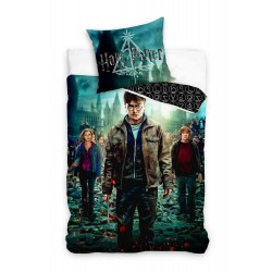Harry Potter Deathly Hallows Påslakanset Bäddset 140x200+70x80cm Harry Potter Deathly Hallows Duv Harry Potter 399,00 kr