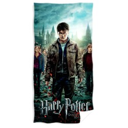 Harry Potter Deathly Hallows Handduk Badlakan 100% Bomull Harry Potter Towel Deathly Hallo Harry Potter 239,00 kr