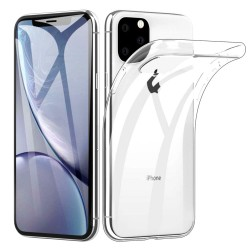 iPhone 11 Pro Max Suojakuori Soft TPU Case Ultra Slim Cover Transparent