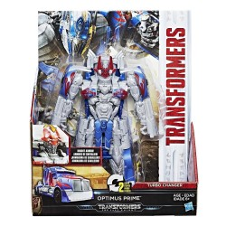 Transformers Knight Armor Turbo Changer Optimus Prime