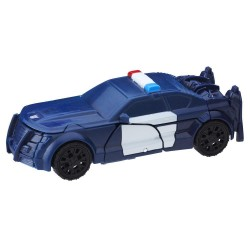 Transformers 1-Step Turbo Changer Barricade 11cm