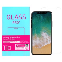 2-Pack iPhone 11 Pro/X/Xs Tempered Glass Screen Protector Retail Package