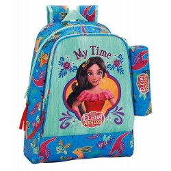 Elena of Avalor Backpack School Bag + Pencil Case 42x33x14cm