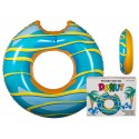 Giant Candy Sprinkle Donut Water Tube Toy 117cm Blue