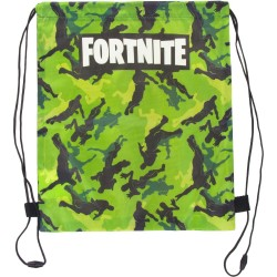 Fortnite Green Gym Pouch Bag Skopose 38x30cm