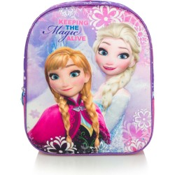 Disney Frozen Backpack Reppu Laukku 3D Design 31 x 27 x 10 cm
