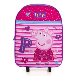Peppa Pig Trolley Travel Bag Matkalaukku 36x28x13 cm