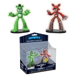 Funko Action Figur 2-Pack Glow Freddy & Foxy Shines in the Dark FNAF