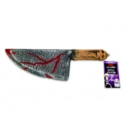 Halloween Blodig Skräckkniv Av Plast 31cm Fest Skämt Party Nr 3 Horror Knife 3 GL 79,00 kr product_reduction_percent