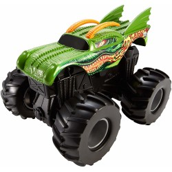 Hot Wheels Monster Jam Rev Tredz Dragon Vehicle 12cm