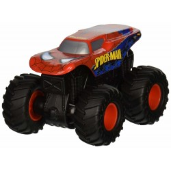 Hot Wheels Monster Jam Rev Tredz Spiderman Vehicle 12cm