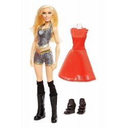 WWE Superstars Fashions Charlotte Flair Doll 30cm