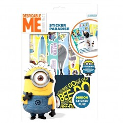 Dumma Mej Minion Sticker Paradise Klistermärken + Album Despicable Me Minion Sticker Par Minions 149,00 kr product_reduction_...