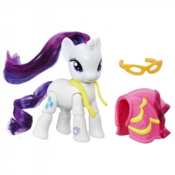 My Little Pony Explore Equestria Rarity Dressmaking Poseable Figure