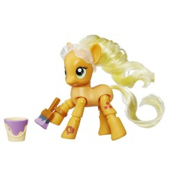 My Little Pony Explore Equestria Applejack Painting Poseable Figure