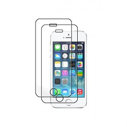 2-Pack iPhone 5/5S Tempered Glass Screen Protector Retail Package