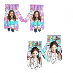 2-Pairs Disney Soy Luna Gloves Children Mittens One Size
