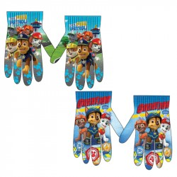 2-Pairs Paw Patrol Gloves Children Mittens One Size