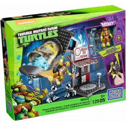 Mega Bloks Teenage Mutant Ninja Turtles Mikey Pizzaria Showdown