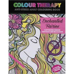 Colour Therapy, Enchanted Fairies, Anti-Stress Coloring Book