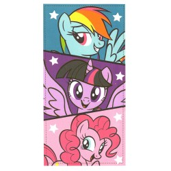 My Little Pony 3 Ponies Kids Towel 140*70 cm