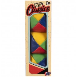 Vintage Retro Classics 4-Colour Juggling Balls 3-Pack