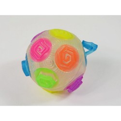 Crazy Ball With Light Effect And Rubber Spirals Fun Game Play