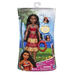 Disney Musical Vaiana/Moana Fashion Doll With Shell Necklace