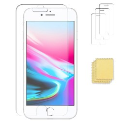 3-pack iPhone 8 Näytönsuojat Screen Protector Transparent