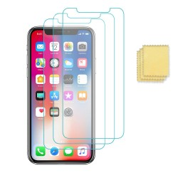 3-pack iPhone 11 Pro /Xs/X Näytönsuojat Screen Protector Transparent