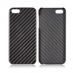 Ægte carbon fiber fiber carbon shell ultra-let iPhone 5 / 5S / SE
