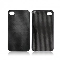 100% Genuine Real Carbon Fiber Case iPhone 4/4S Ultra Slim Back Cover