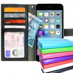 TOPPEN iPhone 6/6S Plus Wallet Case ID pocket Nahkakotelo Lompakkokotelo