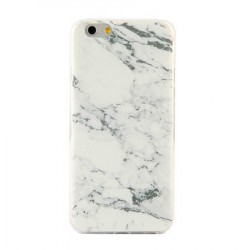 Ultratynde Soft Shell Marble Til iPhone 6 / 6S PLUS Marble