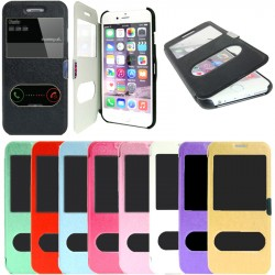 TOPPEN 2in1 Dual View Flip Cover Case iPhone 5/5S + Screen Protector