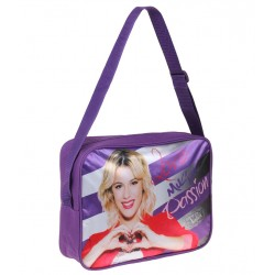 Violetta messenger bag 35x25x10cm Purple